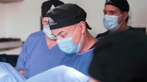 Dr. Parekattil performs surgery
